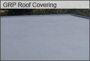 GRP Roof Covering - Flat Roof Covering